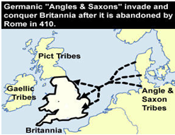 Germanic invasion of Britannia